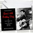 Elvis Presley Party Invitations