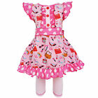 AnnLoren Girls Cotton Makeup Accessories Dress & Legging Outfit sz 2/3T-13/14