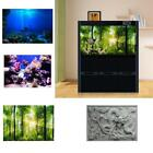 Внешний вид - HD 3D Aquarium Fish Tank Background Poster PVC Landscape Decorations Adhesive