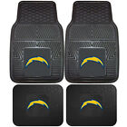 NFL Los Angeles Chargers Car Truck Rubber Vinyl Heavy Duty All Weather Floor Mat $57.98 USD on eBay