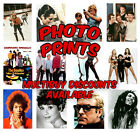 Glossy Photo Prints. Celebrity Photographs 8 x 10 Inch Large Quality Prints