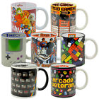 Funky Retro Mugs. Classic Toys Video Games Spectrum Tea Coffee Cup Novelty Gift