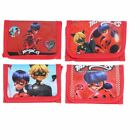 Miraculous Ladybug Girls Wallet Trifold Zip Kids Cartoon Party Coin Purse