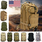 Camo Hiking Camping Bag Army Tactical Trekking Rucksack Outdoor Backpack GW