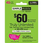 🔥SIMPLE MOBILE 🔥 PRELOADED SIM CARD 🔥3 MONTHS INCLUDED🔥 HUGE SAVINGS🔥