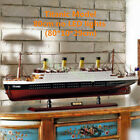 New Hobby Collection Retro Handcraft Wooden 80cm or 100cm Titanic Ship Model