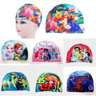 Spiderman Mickey Mouse Minion Cartoon Swim Cap Children Boy Gilrs Hats 2-8 years