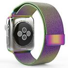 Stainless Steel Magnetic Milanese Loop Band Strap for Apple Watch 38mm / 42mm