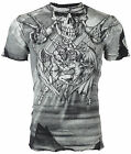 AFFLICTION Men T-Shirt PUPPET MASTER Skull BLACK Tattoo Motorcycle Biker UFC $50