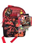 Five Nights At Freddys School Backpack or Lunch or 5PC Set With Lunch Box Pick 1