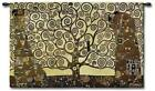 Klimt Tree Of Life Art Nouveau European Art Tapestry, Large Wall Hanging