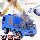 Fire Truck Kids Toy Gift Rescue Fighters Vehicle Lights Sounds Water Pump Boys
