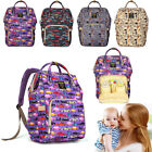 Waterproof Mummy Baby Diaper Nursing Backpack Nappy Changing Maternity Shoulder