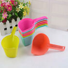 FM- DOG CAT PUPPY FOOD SCOOP SPADE PET SSOLID COLOR POON FEEDING ACCESSORIES CLA