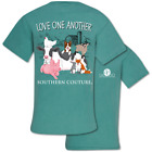 Southern Couture Love One Another Animal Comfort Colors T-Shirt