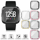 Kyпить Silicone Protective TPU Shell Case Screen Protector Frame Cover For Fitbit Versa на еВаy.соm