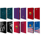OFFICIAL FC BARCELONA 2017/18 CREST LEATHER BOOK CASE FOR SAMSUNG GALAXY TABLETS
