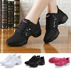 Women Mesh Athletic Sneakers Modern Jazz Lace Up Dance Shoes Running Shoe Size