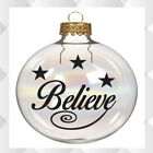 Believe Vinyl Decal Sticker  Bauble Not Included 4, 8 Or 12
