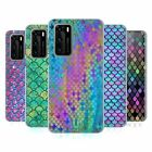 HEAD CASE DESIGNS MERMAID SCALES 2 SOFT GEL CASE FOR HUAWEI PHONES
