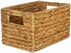 Внешний вид - Straw Studios Woven Rectangular Decorative Storage Basket