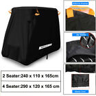 2/4 Seats Passengers Golf Cart Cover Storage Protector For EZ GO Club Car Yamaha