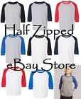 Внешний вид - Gildan Heavy Cotton YOUTH Raglan Tee Baseball T-Shirt 5700B XS-XL