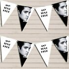 Elvis Presley Black & White Birthday Bunting Garland Personalized Flag Banner