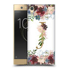 OFFICIAL NATURE MAGICK FLOWERS MONOGRAM FLORAL GOLD BACK CASE FOR SONY PHONES 1
