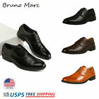 Bruno Marc Mens Downing Leather Lined Dress Oxfords Shoes