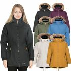 Trespass Celebrity Womens Waterproof Jacket Raincoat Green Black Yellow & Purple