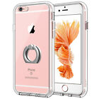 JETech Case for iPhone 6s and iPhone 6 Shockproof Bumper Cover with Ring Holder