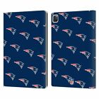 OFFICIAL NFL 2017/18 NEW ENGLAND PATRIOTS LEATHER BOOK CASE FOR APPLE iPAD