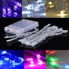 Battery Operated Waterproof Fairy Lights with 2M 5M 10M Warm White RGB LEDs