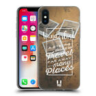 HEAD CASE INSPIRATIONAL CHALK TYPOGRAPHY SOFT GEL CASE FOR APPLE iPHONE PHONES