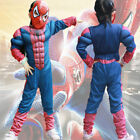 Kids Cosplay Costume Spiderman Superhero Batman Superman Party Game Children Hot