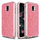 For Samsung Galaxy J7 Refine/Crown/Star Case Shockproof Bling Armor Phone Cover