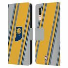 OFFICIAL NBA INDIANA PACERS LEATHER BOOK WALLET CASE COVER FOR HUAWEI PHONES