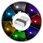 Внешний вид - 7 Color Mini USB LED Light Colorful Lamp Car Atmosphere Lamp Bright Universal