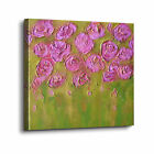 ArtWall Colette Baumback 'Pink Roses' Gallery-wrapped Canvas