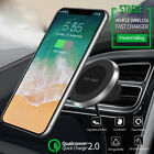 10W Qi Wireless Fast Charger Charging Car Magnetic Air Vent Dashboard Holder