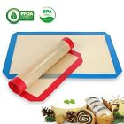2 Pack Silicone Baking Mat Heat Resistant Liner Oven Sheet Mats Kitchen Tool