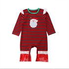 US Big/Little Sister Newborn Baby Girl Family Matching Christmas Romper Outfits