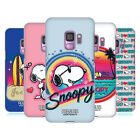 OFFICIAL PEANUTS SNOOPY BOARDWALK AIRBRUSH HARD BACK CASE FOR SAMSUNG PHONES 1