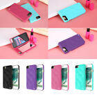 3 in 1 Makeup Mirror+Case+Card Slot Flip Case Cover For iPho