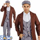 Adult Mens 1920 Costume Gangster Tommy Shelby Peaky Blinders Fancy Dress Outfit
