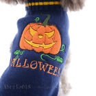 Pet Holiday Halloween Pumpkin Pet Clothes Dog Sweater Puppy Kitten Small Dogs