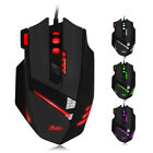 Wired 2.4G Multimedia LED Gaming Keyboard and 5500DPI Mouse Set to PC Gamer Gift