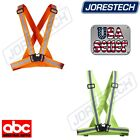 Внешний вид - New Hi Vis Reflective Vest Safety Belt Running Walking Cycling Biking JORESTECH