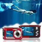Underwater Digital 24MP 1080P Dual Screen Point and Shoot Video Recorder Camera